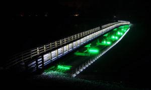 """Gājēju tilts Alūksnē – 3.vieta nominācijā """"Jauna inženierbūve 2015"""""""