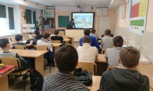 """Kampaņa """"Mācies būvniecību"""" Salaspils 2.vidusskolā, 2017.gada 3.februārī"""