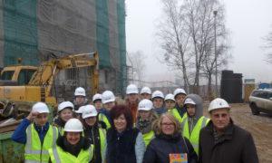 """Kampaņa """"Mācies būvniecību"""" VEF Kultūras pilī 2017.gada 15.februārī."""