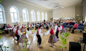 O.Kalpaka Rīgas Daiļamata skolas skolnieku priekšnesums