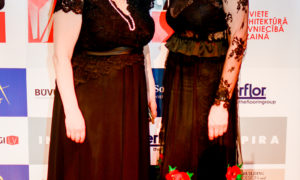 Foruma organizatores Agrita Lūse un Gunita Jansone