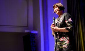 Māra Lāce, Latvijas Nacionālā muzeja direktore, foruma sargeņģelis.