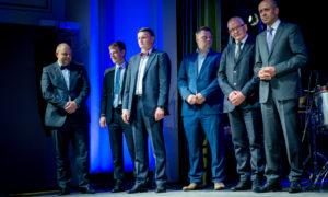 Cienījamā žūrija ir gatava godināt foruma nominantes. Ainārs Leitēns, Aigars Ločmelis, Vestards Rozenbergs, Artjoms Gridņevs, Roberts Trautmanis, Oļegs Burovs.