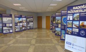"""Izstādes """"Radošā inženierija"""" atklāšana Daugavpils domes ēkā 2017.gada 7.jūnijā"""