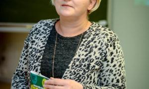 Uzstājas LLU Vides un būvzinātņu fakultātes Asociētā profesore Sandra Gusta.