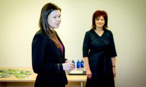 Uzstājas Izglītības un zinātnes ministrijas Izglītības departamenta eksperte Laura Vikšere.