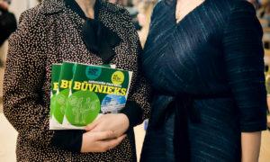 """Kampaņas """"Mācies būvniecību"""" organizatores Gunita Jansone un Agrita Lūse"""