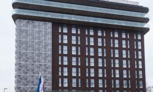 """Viesnīcas ēkas 2. kārtas būvniecība Krogus iela 1, Rīga. Pasūtītājs: SIA """"D.N.H."""". Projekts """"5.iela"""", Ija Rudzīte. Būvnieks, AS """"LNK Industries"""", projekta vadītājs Vadims Bogdanovs. Būvuzraudzība """"P.M.G."""", Māris Dikmanis."""