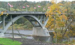 Gaujas tilta valsts reģionālā autoceļa P8 Inciems – Sigulda – Ķegums 10,70 km pārbūve. Pasūtītājs A/S «Latvijas Valsts ceļi». Projekts Andris Buliga, «BT Projekts». Būvnieks «Rīgas tilti», projekta vadītājs Pāvels Sidorovs. Būvuzraudzība Ziedonis Zviedris, «Ingway».