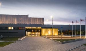 Siguldas sporta centrs, jaunbūve, Ata Kronvalda iela 7A, Sigulda. Pasūtītājs Siguldas novada pašvaldība. Projekts Māris Malahovskis, ''Nams''. Būvnieks ''MONUM'', projekta vadītājs Andris Reinholds. Būvuzraudzība ''Jurēvičs un partneri'', Arvis Zemītis.