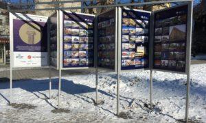 """Konkursam """"Latvijas Būvniecības Gada balva 2017"""" pieteikto objektu foto izstāde Līvu laukumā aplūkojama no 2018.gada 23.februāra līdz 2018.gada marta vidum."""