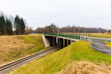 Ceļu pārvads pār dzelzceļu posmā Rīga – Sigulda
