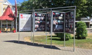Gala ceremonijas foto izstāde Līvu laukumā līdz 2018.gada jūnijam.