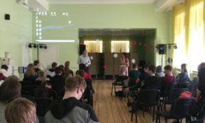 Alūksnes novada vidusskolā kampaņa Mācies būvniecību kopā ar lektoriem Ivo Rozentālu no uzņēmuma Būvuzraugi LV un Juri Pavlovu no uzņēmuma Inbuv viesojās 2019.gada 24.aprīlī.