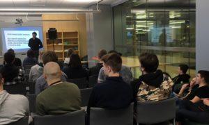Latvijas Nacionālā bibliotēka uzņēma kampaņu Mācies būvniecību 2019.gada 4.februārī, pulcējot vairāk nekā 40 studentus no Rīgas Celtniecības koledžas pasniedzēja Dina Kopštāla vadībā. Par ikdienas darbu specifiku studentiem stāstīja Valdis Eisāns, Forma 2 būvuzrauga palīgs.