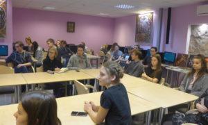Pie Rīgas Valsts 3.ģimnāzijas skolniekiem kampaņa Mācies būvniecību varoņi viesojās 2019.gada 30.janvārī. Ar skolnieku auditoriju runājās Aleksejs Tokarevs, Velve būvdarbu vadītājs, un Edgars Krasņikovs, Forma 2 būvuzraugs.