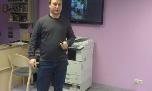 Pie Rīgas Valsts 3.ģimnāzijas skolniekiem kampaņa Mācies būvniecību varoņi viesojās 2019.gada 30.janvārī. Ar skolnieku auditoriju runājās Aleksejs Tokarevs, Velve būvdarbu vadītājs.