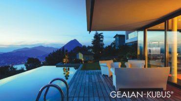Vairāk saules gaismas –inovatīvas GEALAN- KUBUS® logu sistēmas