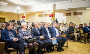 Auditorija Rīgas Klasiskajā ģimnāzijā.