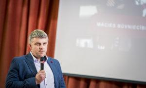 """Deniss Kamuškovs, """"Velve"""" projektu vadītājs."""