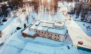 Rekonstrukcija. Energoefektivitātes paaugstināšana kultūras namā Līvbērze. Jelgavas iela 17, Līvbērze. Pasūtītājs Jelgavas novada pašvaldība. Projekts arhitekts Mikus Lejnieks, būvprojekts Ance Bērziņa, Livland Group.