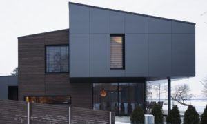 Jauna dzīvojamā ēka. Privātmāja Ādažu novadā. Pasūtītājs privātpersona. Projekts arhitekts Jānis Alksnis, Modus Mood.