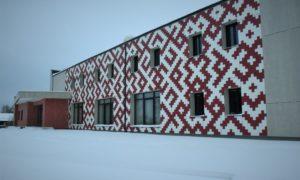 Fasāžu rekonstrukcija. Kultūras nams Līvbērzē, Jelgavas iela 17, Līvbērze, Jelgavas novads. Pasūtītājs Jelgavas novada pašvaldība. Būvprojekts Livland Group, Ance Bērziņa, arhitektūras daļas vadītājs Mikus Lejnieks. Būvnieks Bildberg.