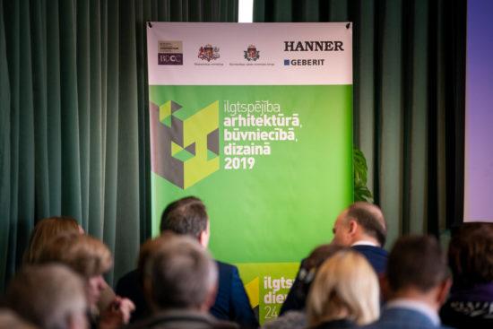 Konference Ilgtspējība arhitektūrā, būvniecībā, dizainā