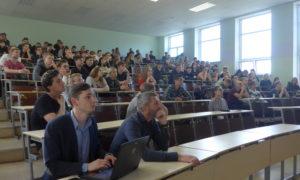 Mācies būvniecību pie Rīgas Tehniskās universitātes 1.kursa studentiem Ievadlekcijā 2019.gada 1.oktobrī.