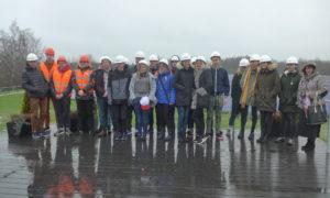 Jelgavas Tehnoloģiju vidusskolas 10.klases skolnieki 2019.gada 5.novembrī viesojās Baltijā un varbūt pat Eiropā lielākajā Saules kolektoru parkā.