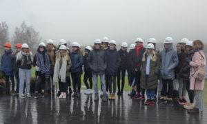 2019.gada 12.novembrī Salaspils saules parkā viesojās Oskara Kalpaka Tautas Daiļamatu pamatskolas 8. un 9. klases skolnieki fiziskas skolotāja pavadībā.