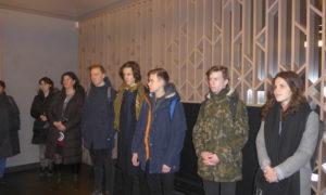 2020.gada 12.februārī skolnieki, ēnojot attīstītāja Axi Invest pārstāvi arhitektu Ervīnu Timofejevu, no Rīgas Vācu ģimnāzijas un Rīgas 3.ģimnāzijas apmeklēja vienu elegantākajām jaunajām dzīvojamajām ēkam Rīgas centrā - Lāčplēša ielā 11/13.