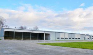 Ražošanas teritorija Ķieģeļceplis Valka, pasūtītājs Valkas novada dome, projekts REP, būvnieks WOLTEC, būvuzraudzība Akorda & KPR.
