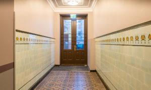 Dzīvokļu māja Dzirnavu iela 63, Rīga, pārbūve, pasūtītājs Rīgas juridisko konsultāciju birojs, projekts ALTA GRUPA, būvnieks Anzāģe.