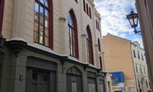 Ēkas fasādes atjaunošana Kaļķu iela 11a/ no Zirgu ielas, pasūtītājs Valsts nekustamie īpašumi, būvnieks Būvuzņēmums Restaurators, būvuzraudzība VNĪ.