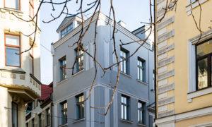 Fasāžu atjaunošana Zirgu ielā 7, Rīgā, pasūtītājs privātpersona, projekts ALTA GRUPA, buvnieks Raco, būvuzraudzība Tectum supervising.