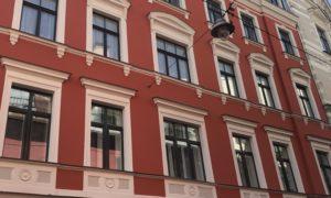 Fasādes atjaunošana Audēju iela 3, Rīga, pasūtītājs Dzīks Audēju 3, būvnieks Fasāde PRO, būvuzraudzība Mārcis Jaunzems.