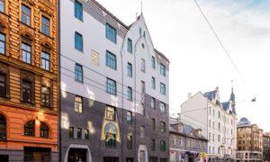 Fasādes atjaunošana Čaka iela 26, pasūtītājs OA GROUP, projekts ALTA GRUPA, būvnieks SMART BUILD, būvuzraudzība ADBS.