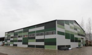 """IKTK ražošanas ēka"""", Rubeņu ceļš 46, Raubēni, Ozolnieku novads, pasūtītājs IKTK, projekts RBD, būvniecība Igate Būve, būvuzraudzība Lerix."""