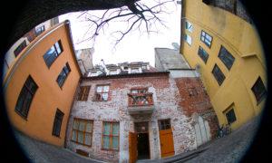 Dzīvokļu ēka Laipu ielā 8, pasūtītājs privātpersona, projekts Artūrs Lapiņš.