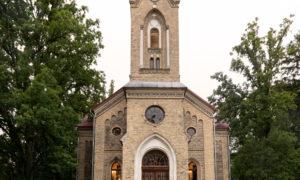 Ķemeru evaņģēliski luteriskā baznīca Andreja Upīša iela 18, Jūrmala, pasūtītājs Ķemeru evaņģēliski luteriskā draudze, būvnieks Velve-AE, būvuzraudzība Aija Anda Roze.