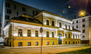 Dzīvojamo ēku rekonstrukcija un jaunbūve Kuģu iela 15, Rīga, pasūtītājs Kuģinieks, projekts SARMA & NORDE Arhitekti, būvnieks Aimasa, būvuzraudzība Apreks.
