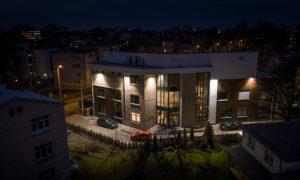 Estētikas klīnika, Tālivalža iela 15, Rīga, pasūtītājs Aestetica, projekts Vija Ozola, būvnieks Ductus, būvuzraudzība RL Solution.