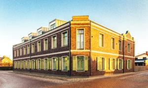 Dzīvokļu ēkas pārbūve Katoļu 9, Ventspils, pasūtītājs BMB Investments, būvnieks BKB Pakalpojumi.