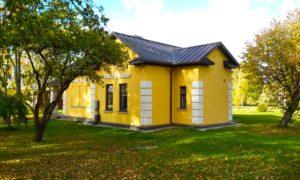 Komunikāciju centrs, dzelzceļa stacijas pārbūve Ķeipene, Ogres novads, pasūtītājs Ķeipenes pagasta pārvalde, projekts Atmospheres, būvnieks Cleanhouse, būvuzraudzība Siguldas Būvmeistars.