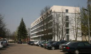 RTU Inženierzinātņu un viedo tehnoloģiju centra mācību korpusa pārbūve Ķīpsalas ielā 6B, Rīgā, pasūtītājs RTU, projekts Valeinis un Stepe, būvnieks Abora, būvuzraudzība Fabrum.