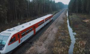 Reņģes dzelzceļa pārbūve, pasūtītājs Lithuanian Railways, projekts un būvniecība Vitras-S