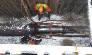 Ūdensvada tīkla pārbūve posmā no aizbīdņa Nr.6714 Marijas ielā līdz pieslēgumam Aspazijas bulvārī, Rīgā, būvnieks Norma –S.