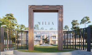 Daudzdzīvokļu jaunbūve Villa Milia. Jūrmala, Dzintaru prospekts 21, pasūtītājs R.EVOLUTION, projekts Zane Tetere, būvnieks Velve.
