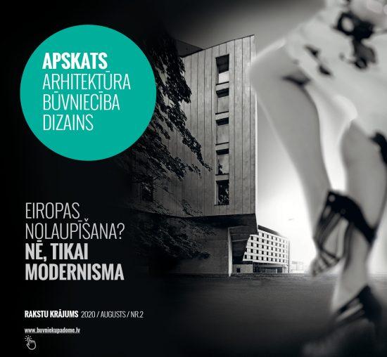 APSKATS Arhitektūra Būvniecība Dizains 2020/2